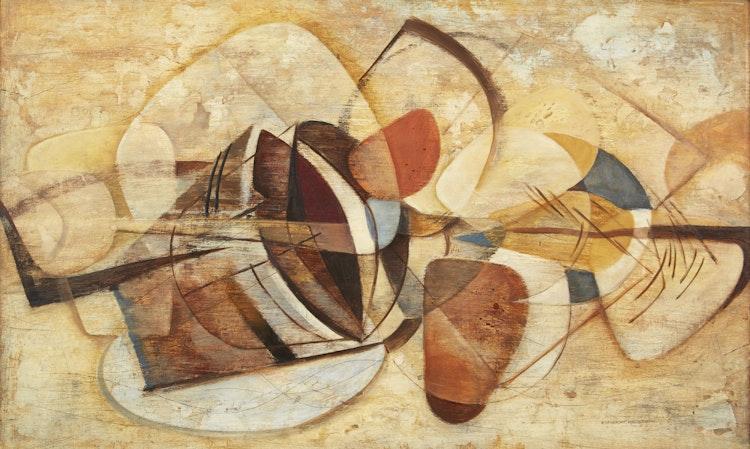 Artwork by Donald Mackay Houstoun,  Still Life (Beach Stones)