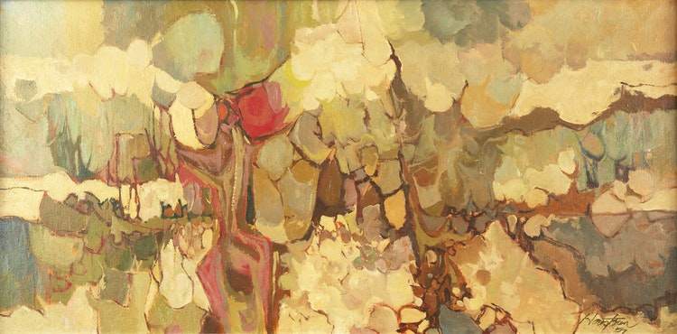 Artwork by Donald Mackay Houstoun,  Abstraction