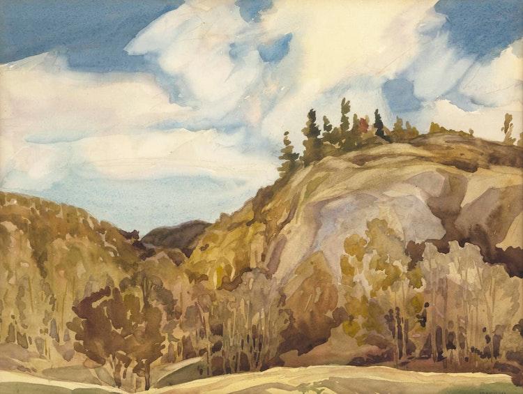 Artwork by Joachim George Gauthier,  Bancroft Hills