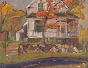 Artwork by Ralph Wallace Burton, White House - Clayton, Ontario