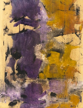 Artwork by Toni Onley, Abstraction