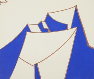 Artwork by Peter Sager, Untitled 1971
