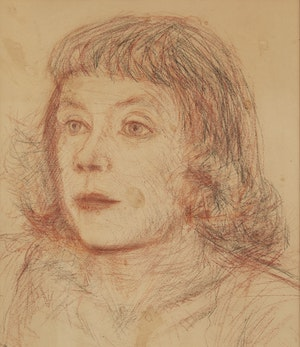 Artwork by Miller Gore Brittain, Portrait of Pegi Nicol MacLeod