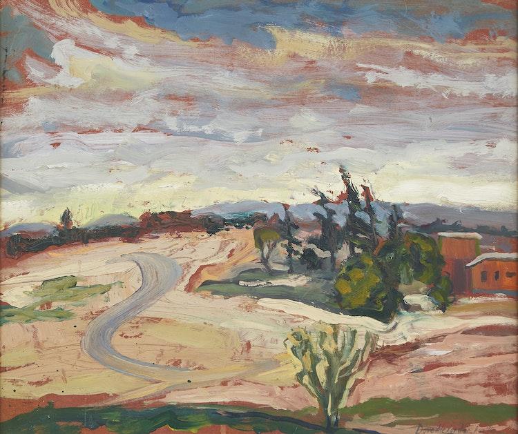 Artwork by David T Alexander,  Untitled Landscape