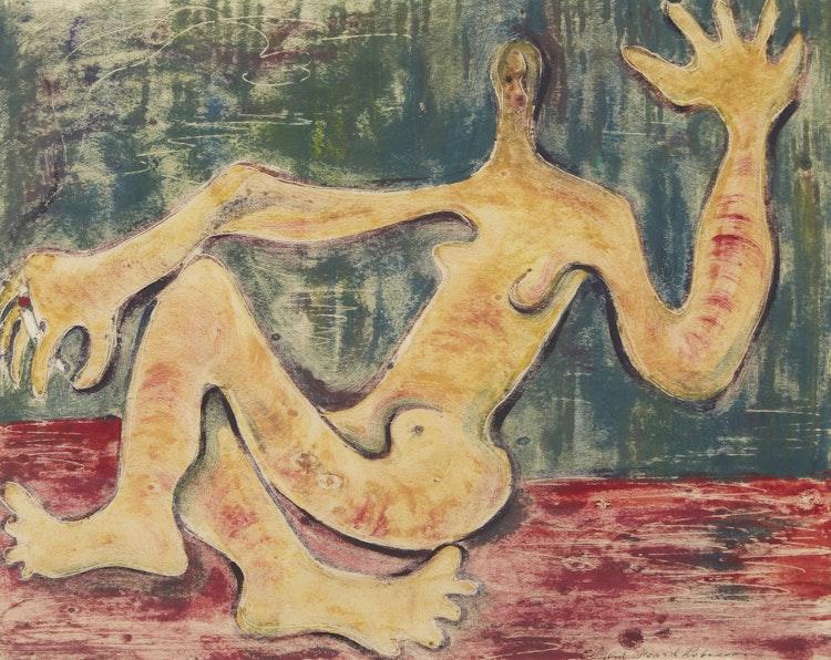 Artwork by Clifford Feard Robinson,  Reclining Figure