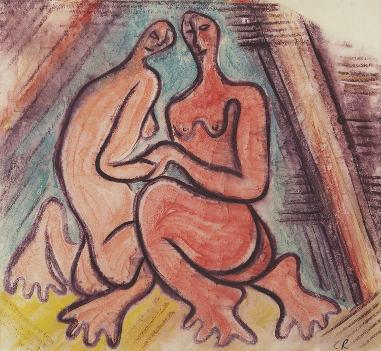 Artwork by Clifford Feard Robinson,  The Couple