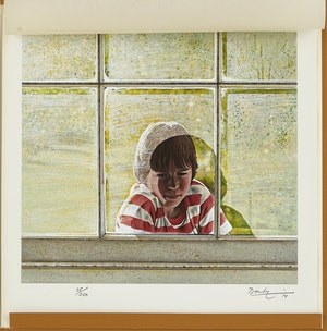 Artwork by Kenneth Danby, Ken Danby Limited Edition Monograph and Serigraph