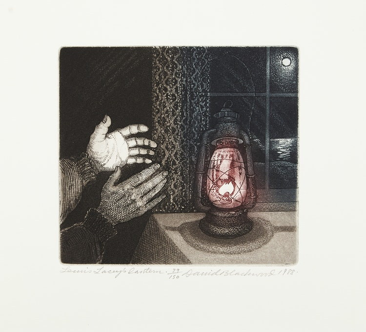 Artwork by David Lloyd Blackwood,  The Art of David Blackwood