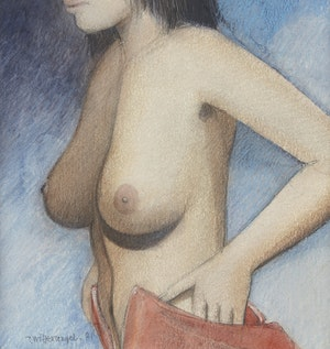 Artwork by  Unknown 20th Century Artist, Female Nude