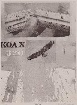 Artwork by Carl Beam, Koan 320