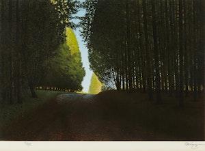 Artwork by Kenneth Danby, Cedar Break