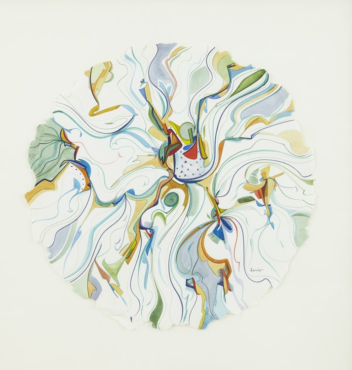 Alex Janvier, Untitled Composition