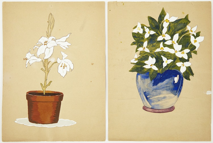 Artwork by Eugenia Berlin,  Selection of Drawings, Sketches and Works on Paper