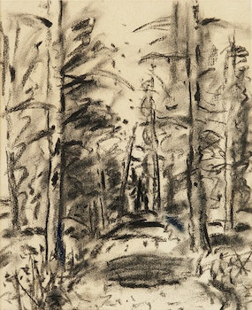 Artwork by Stanley Morel Cosgrove, Path through the Forest