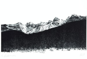 Artwork by Ronald William Bolt, Rocky Mountain Suite #5