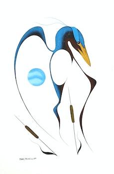 Artwork by Isaac Bignell, Bird