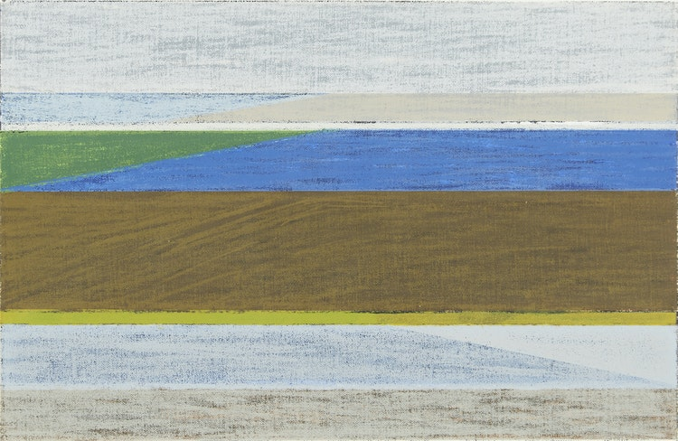 Artwork by Gordon Appelbe Smith,  Low Tide