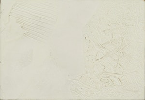 Artwork by Ronald Langley Bloore, White Painting, 1971/72