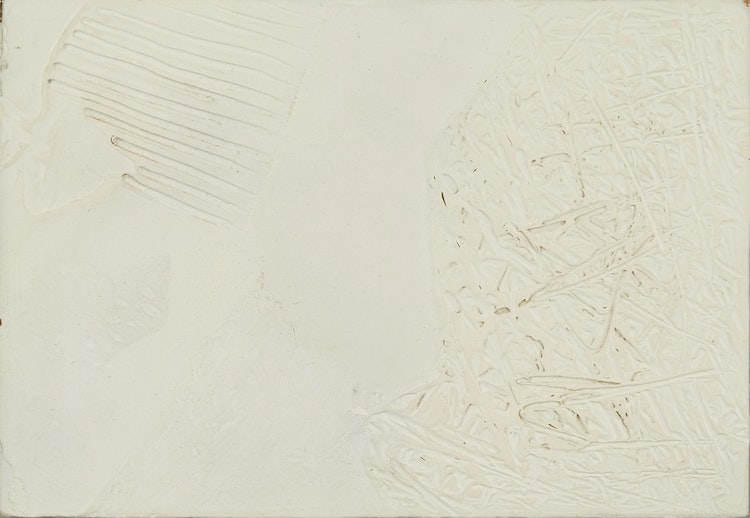 White Painting, 1971/72' by Ronald Langley Bloore at Cowley Abbott