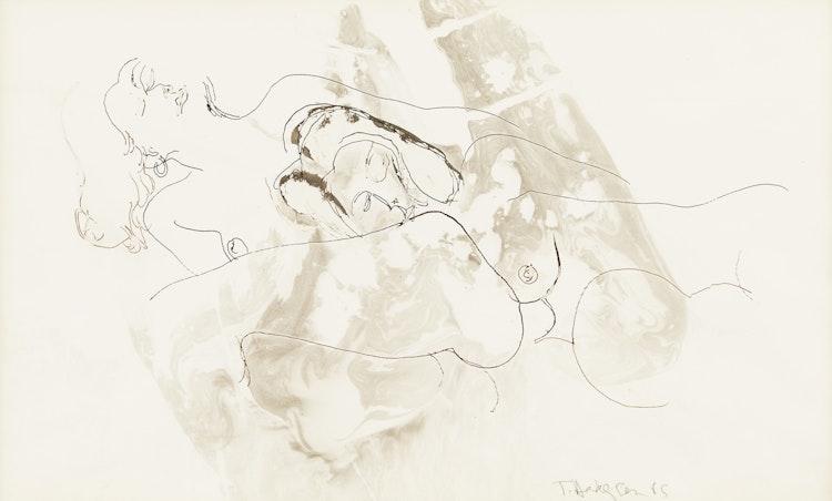 Artwork by Thomas Sherlock Hodgson,  Nude Abstraction