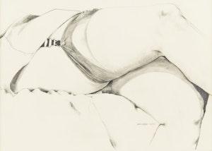 Artwork by Dennis Eugene Norman Burton, Thigh Highs