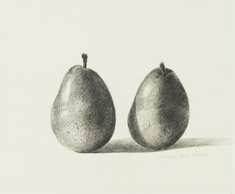 Artwork by Gordon Appelbe Smith,  Two Pears