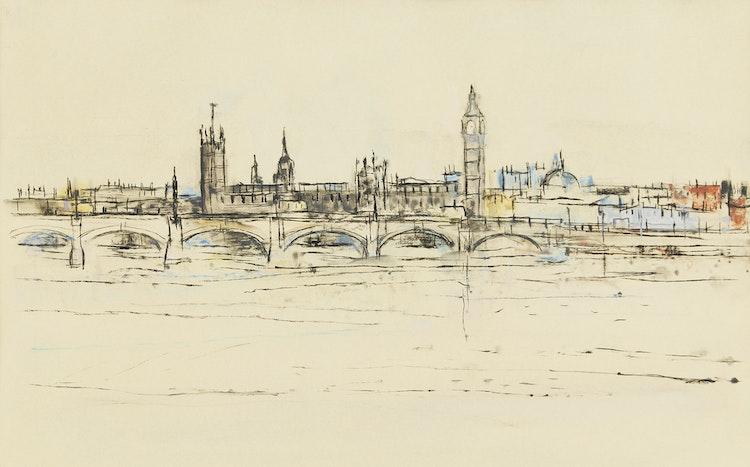Artwork by Gordon Appelbe Smith,  London
