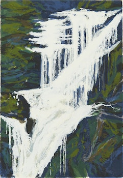 Artwork by Gordon Appelbe Smith, Shannon Falls D