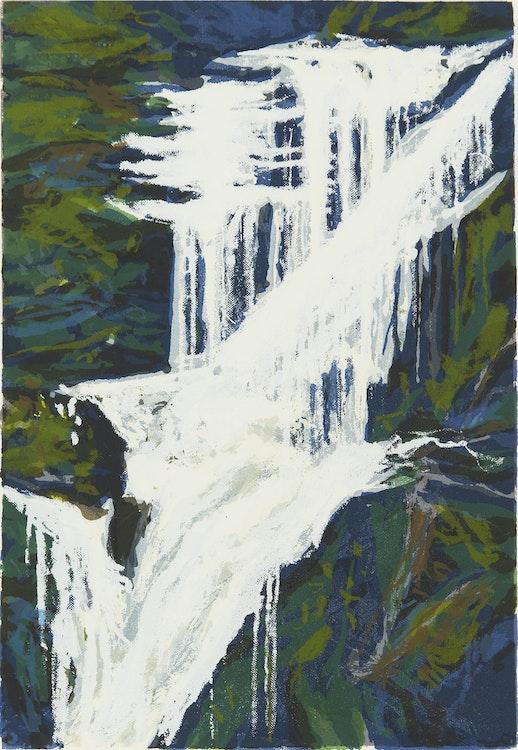 Artwork by Gordon Appelbe Smith,  Shannon Falls D