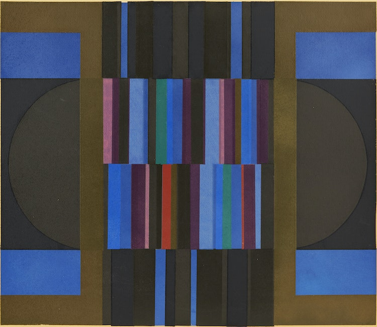 Artwork by Gordon Appelbe Smith,  Untitled Abstraction