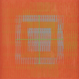 "Artwork by Gordon Appelbe Smith, Untitled Abstraction (""Op Art"")"