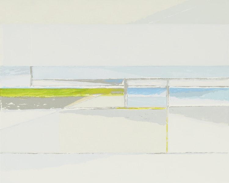 Artwork by Gordon Appelbe Smith,  Winter Sea