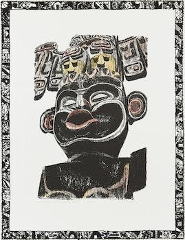 Artwork by Gordon Appelbe Smith, Homage to Bill Skow