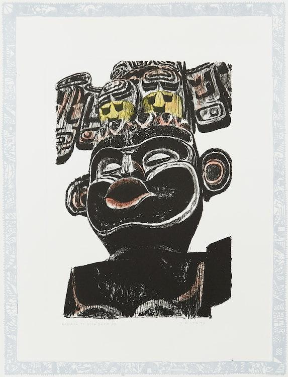 Artwork by Gordon Appelbe Smith,  Homage to Bill Skow '47
