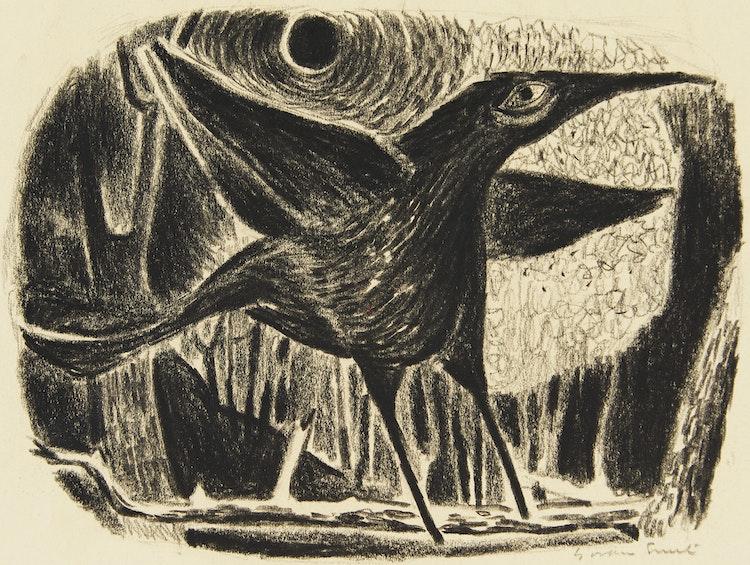 Artwork by Gordon Appelbe Smith,  Bird