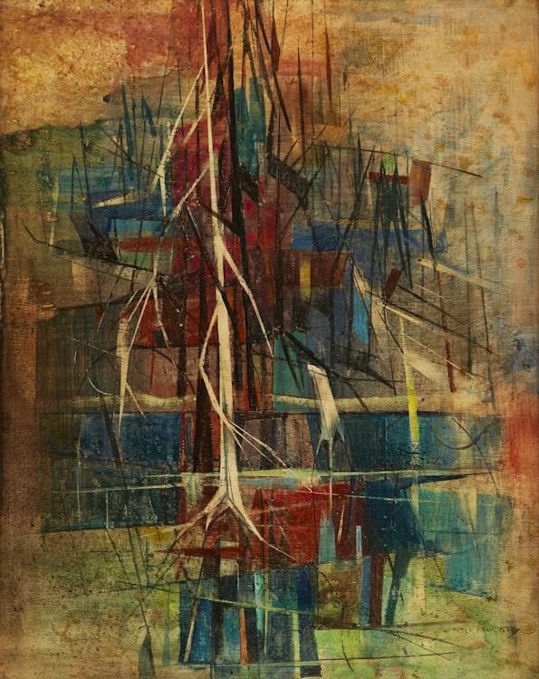 Artwork by Peter Haworth,  Northern Lake