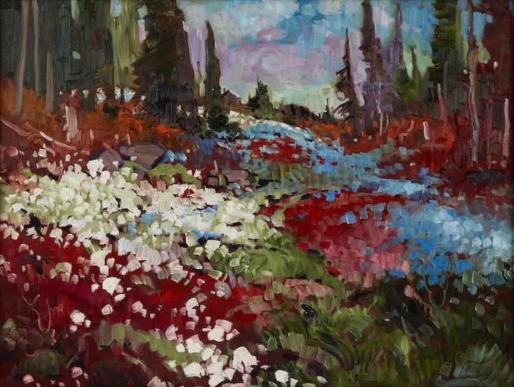 Artwork by Bruno Côté,  Valley in Summer