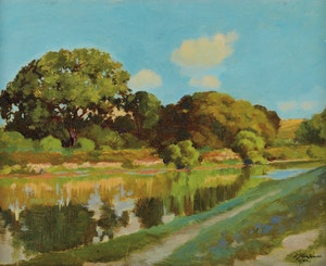 Artwork by James Edward Hervey MacDonald, Summer Landscape