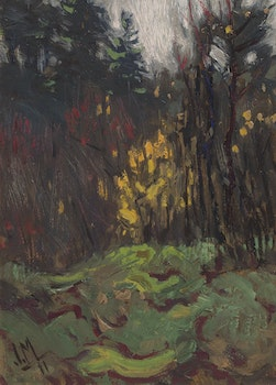 Artwork by James Edward Hervey MacDonald, High Park