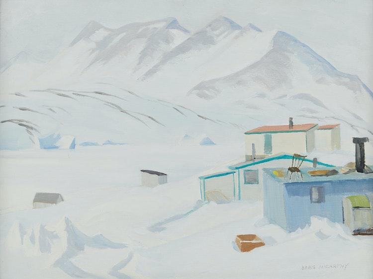 Artwork by Doris Jean McCarthy,  Broughton Island N.W.T., 1979