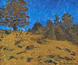 Artwork by William Goodridge Roberts, Bright Day, Laurentians