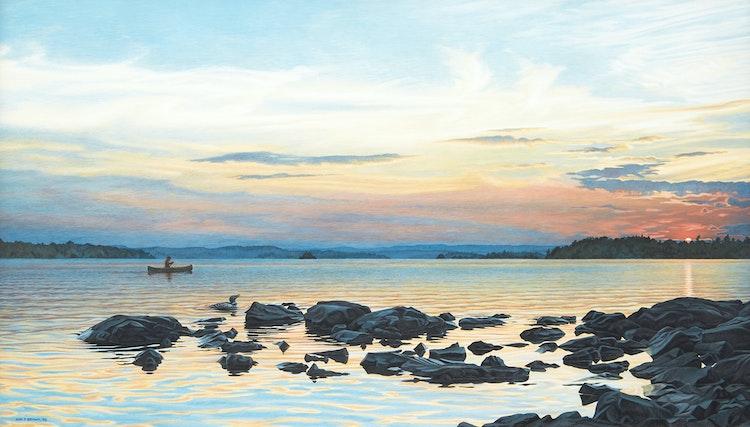 Artwork by Daniel Price Erichsen Brown,  Landscape