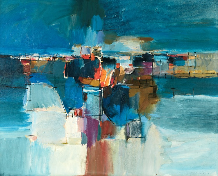 Artwork by Gordon Appelbe Smith,  Abstraction