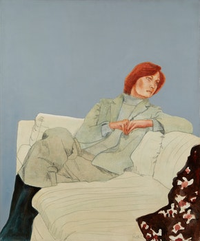 Artwork by Charles Pachter, Portrait of Sharon