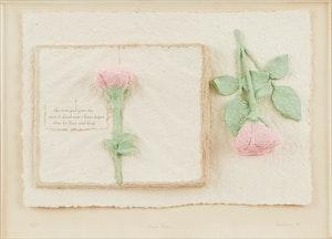 Artwork by Betty Davison, Paper Roses
