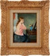Thumbnail of Artwork by Francois Gall,  Regard dans le miroir