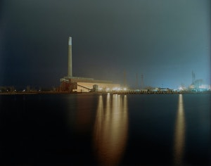 Artwork by Jesse Boles, Crude Landscapes #70