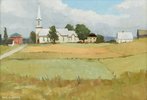 Artwork by Thomas Keith Roberts, Summer Morning, St. Joseph