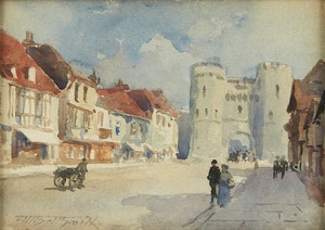 Artwork by Frederic Marlett Bell-Smith, Canterbury