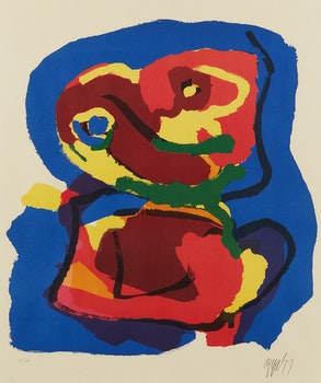 Artwork by Karel Appel, Sem Titulo